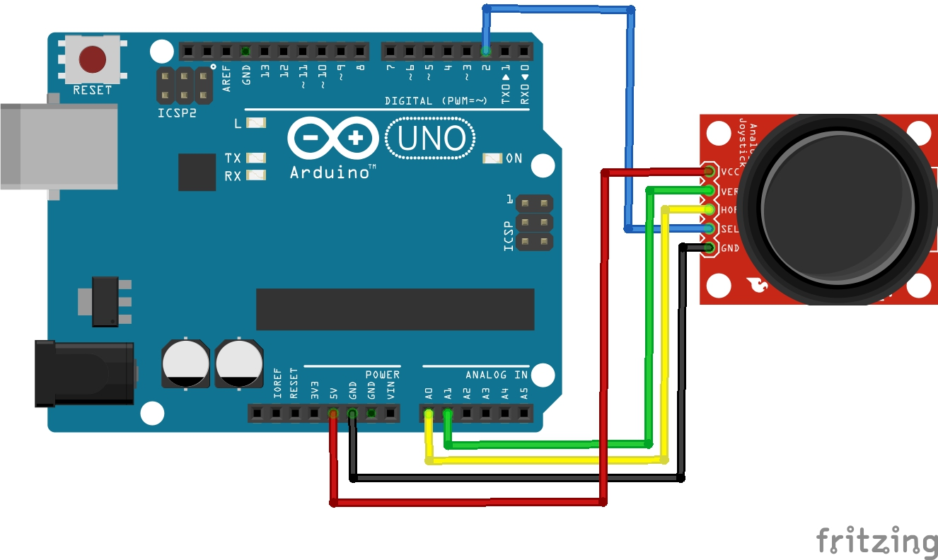 Ten segment led bar graph and arduino uno thingsconnected