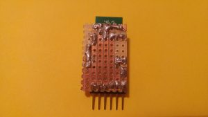 hc-05 bluetooth module breakout board  bottom