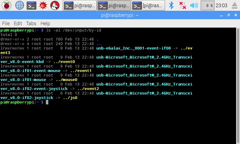 Touch screen calibration using xinput calibrator on Raspberry Pi