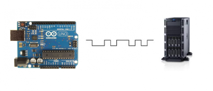 save arduino serial data to computer